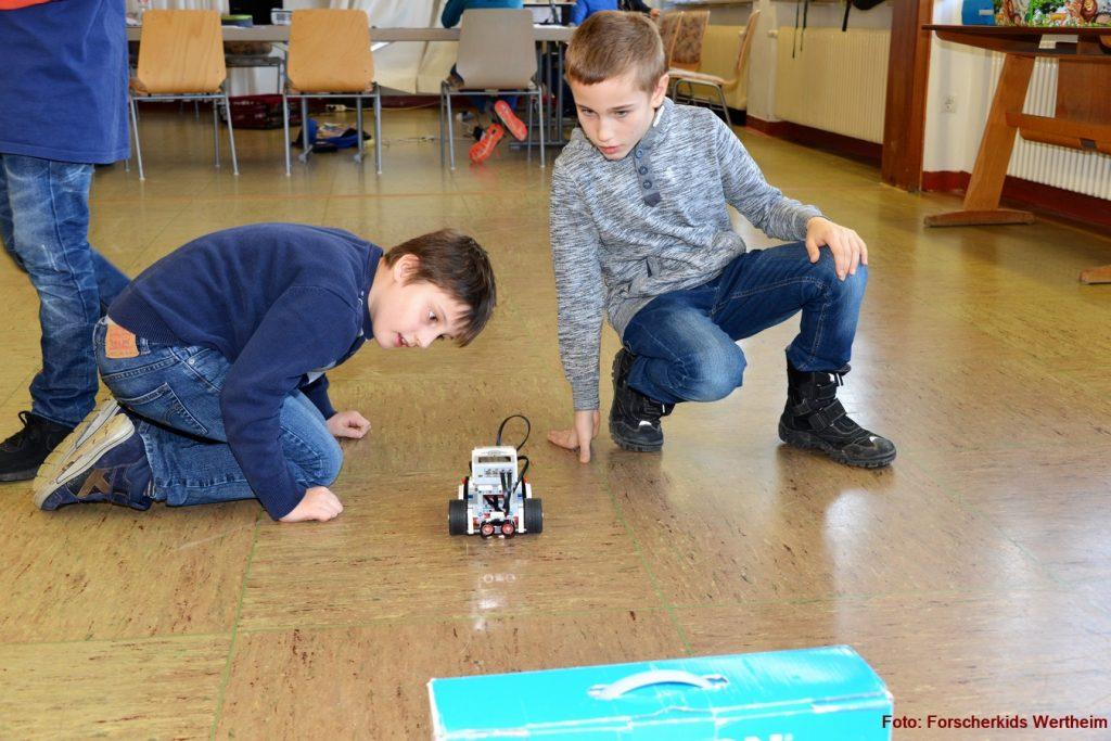 Robotikurse mit Leog Mindstorm EV 3 Robotik